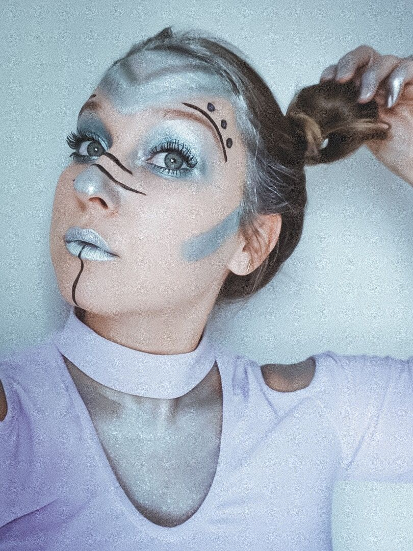 Pin by tianmitang on BEAUTY Halloween makeup looks, Cute