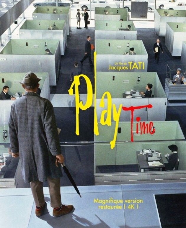Playtime (1967) | Jacques tati, French movie posters, Comedy films