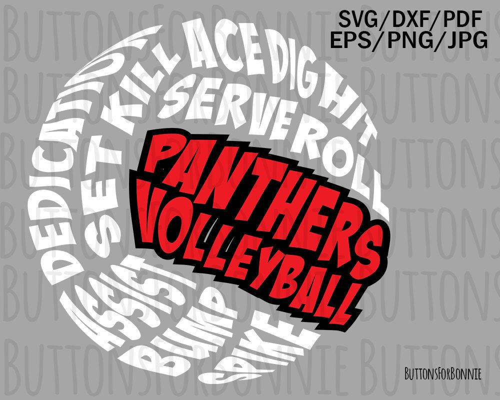 Panthers Volleyball Svg Volleyball Mom Volleyball Svg Etsy Volleyball Mom Volleyball Shirt Designs Volleyball