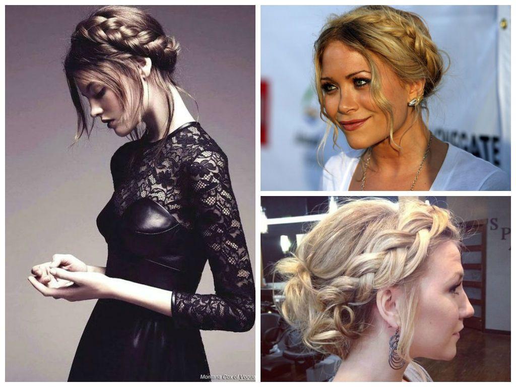 crown-braid-wedding-hair-for-a-round-face-shape | hair | pinterest