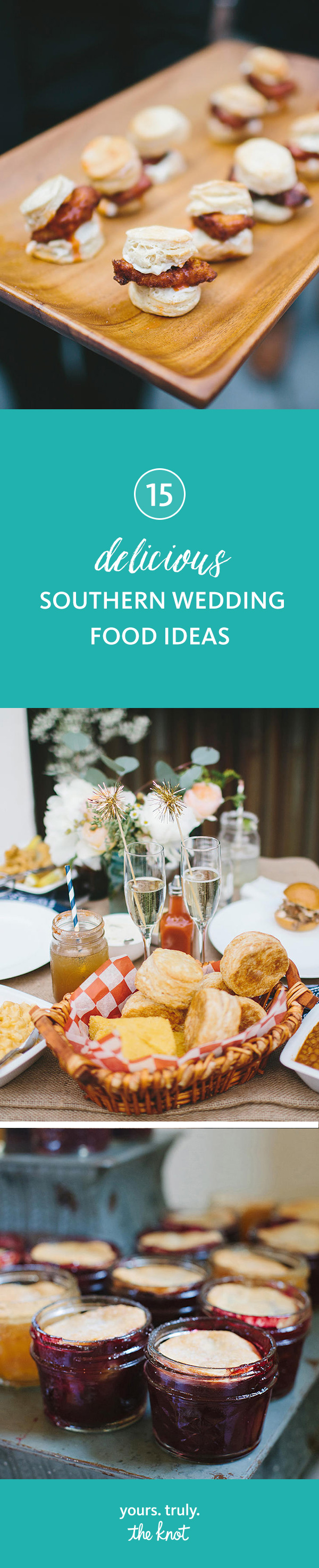 15 Delicious Southern Wedding Food Ideas | Pinterest | Southern ...