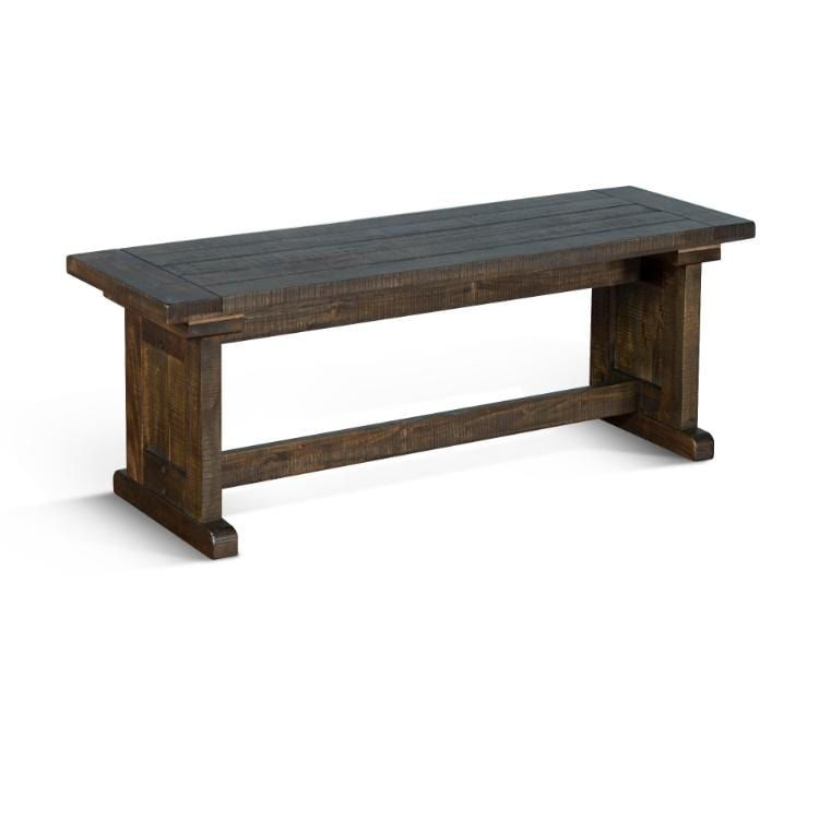 Rustic Farmhouse Homestead Breakfast Nook Set with Benches