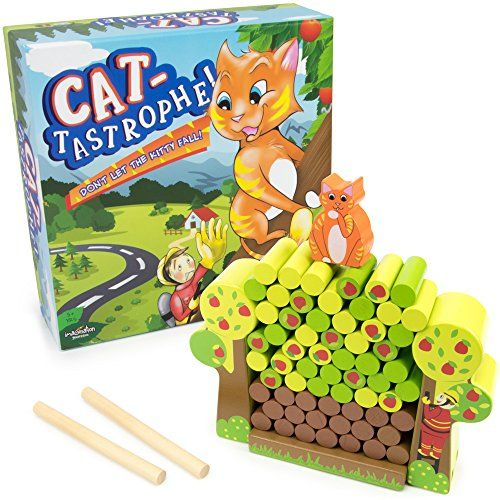 Cat-tastrophe! Children's Dexterity Game, Classic Wood Fa...   #Christmas #gifts Click view to get more information or how to purchase.