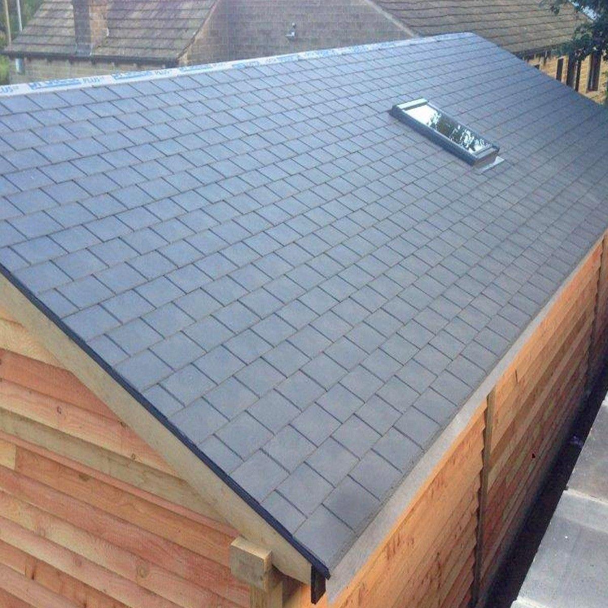 Novi Slate Polymer Slate Roof Panel Slate Roof Roof Panels Roof