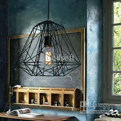 Nordic Industrial Style Hive Metal Cage Pendant Light Pendant Lamps | Buy  Wholesale On Line Direct