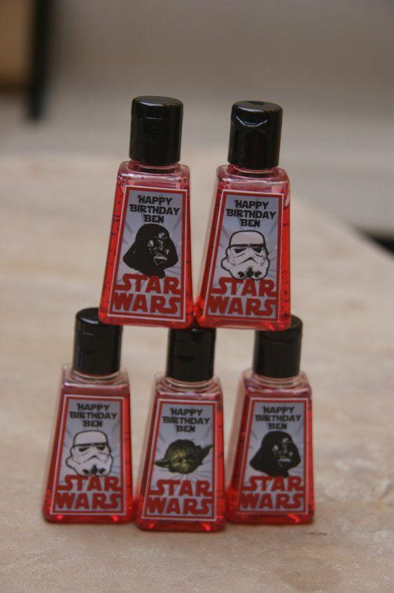 Starwars Party Favor 5 Starwars Hand Sanitizer 12 50 Via Etsy