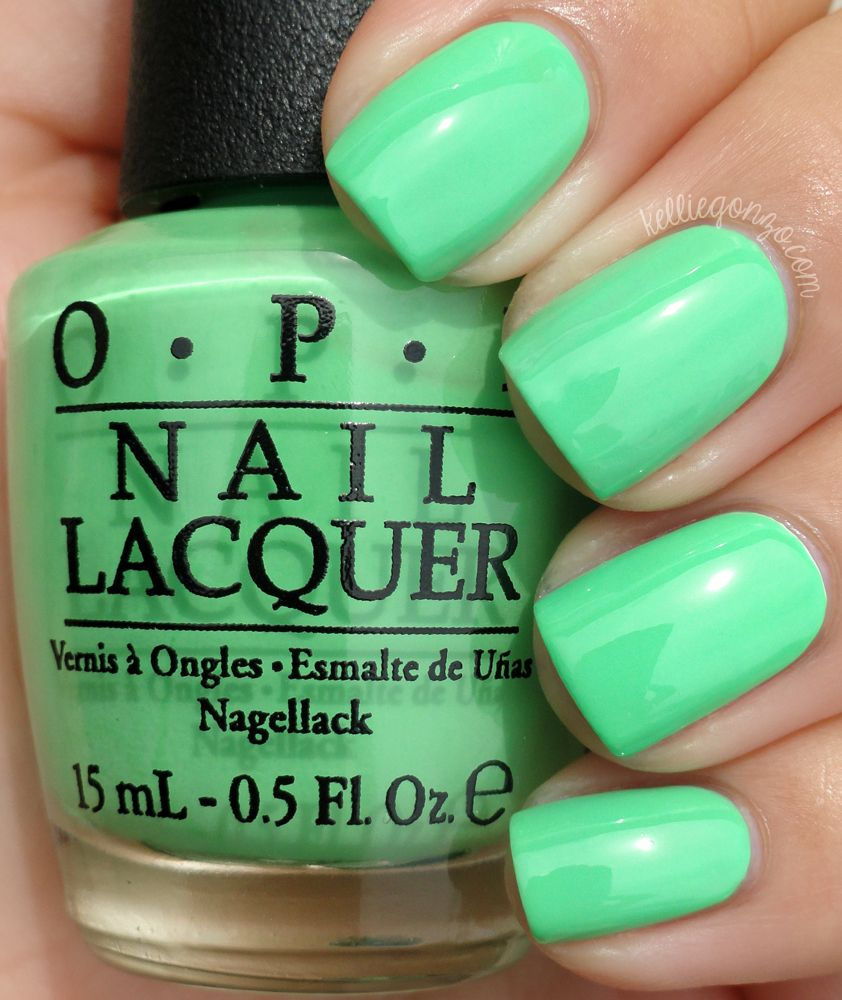 OPI - You Are So Outta Lime! | Insta worthy | Pinterest | Lista de ...