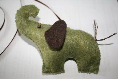 Flying Elephants Mobile - DIY Show Off ™ - DIY Decorating and Home Improvement Blog
