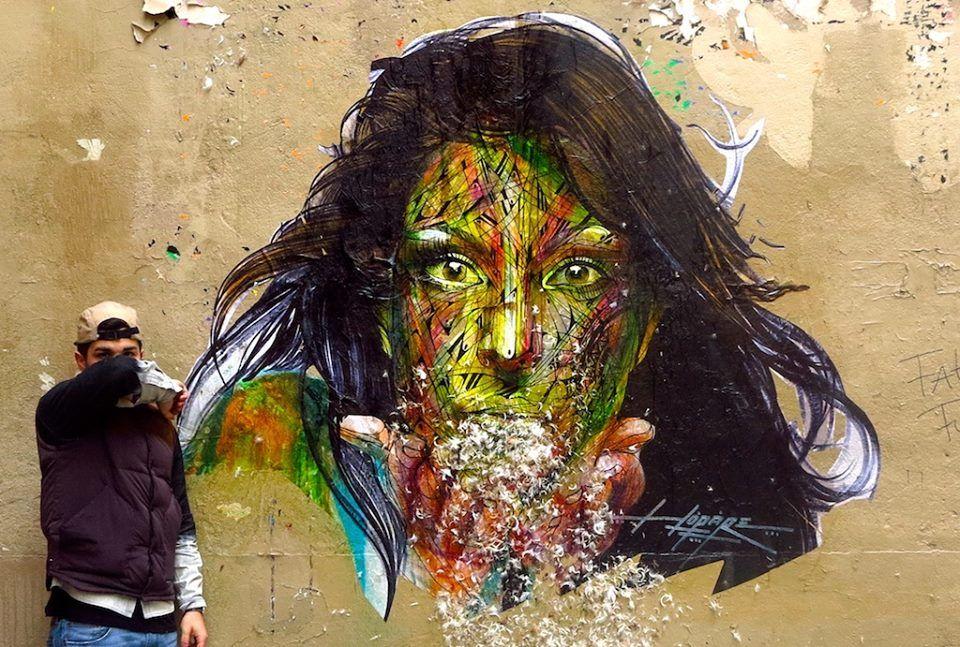 Hopare - Street artist