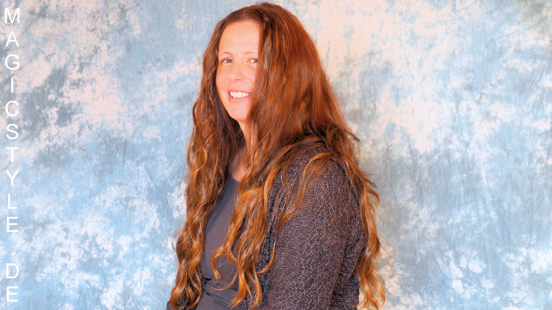 Nicole: Schöne lange, dichte Haare mittels Teilweaving mit Tressen aus T...
