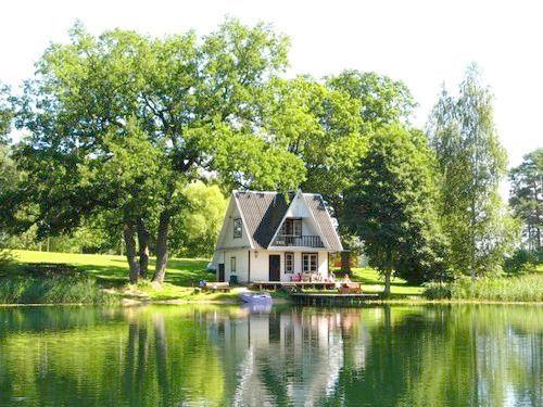 sweet little cottage Haus am see, Schöne zuhause und