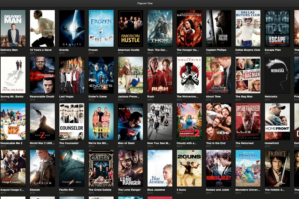 Popcorn Time Free movies, Latest hollywood movies