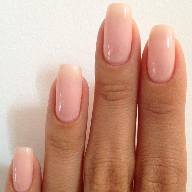 O P I Bubble Bath Pink Nails Manicure Nail Polish Colors