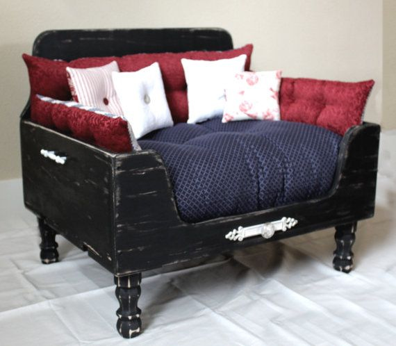 Pet dog bed bed cat bed FREE SHIPPING by designercraftgirl on Etsy, $1200.00
