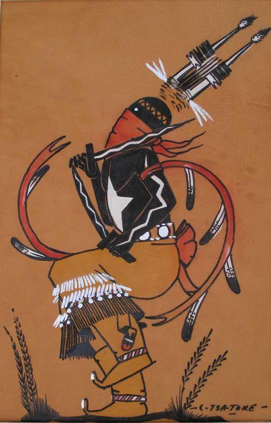 Lee Tsatoke, Sr. (Kiowa) -Apache Fire Dancer