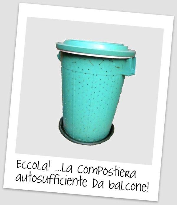 Come costruire la compostiera da balcone fai-da-te