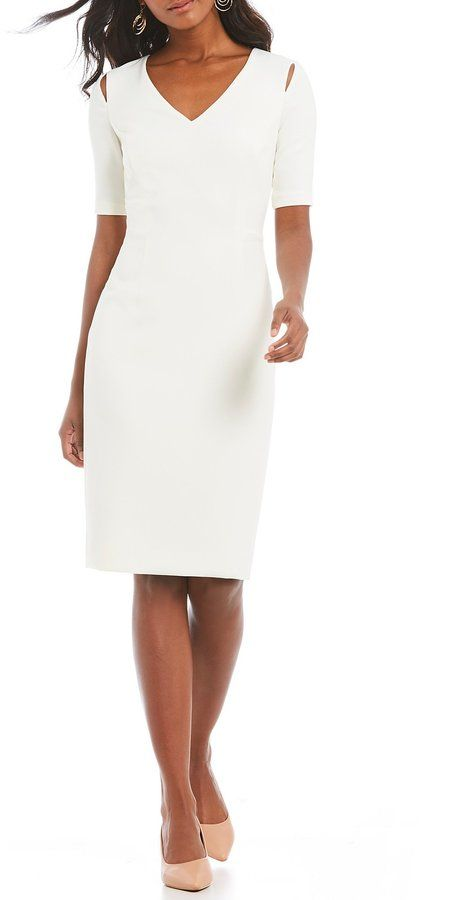 8567c16b4915 Antonio Melani Felicity Cut Out Dress at Dillard's (affiliate link). Find  this Pin and more on Little White ...