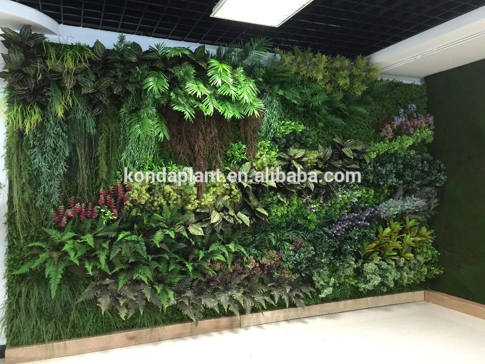 China indoor outdoor home decor artificial plants wall for Artificial plants indoor decoration