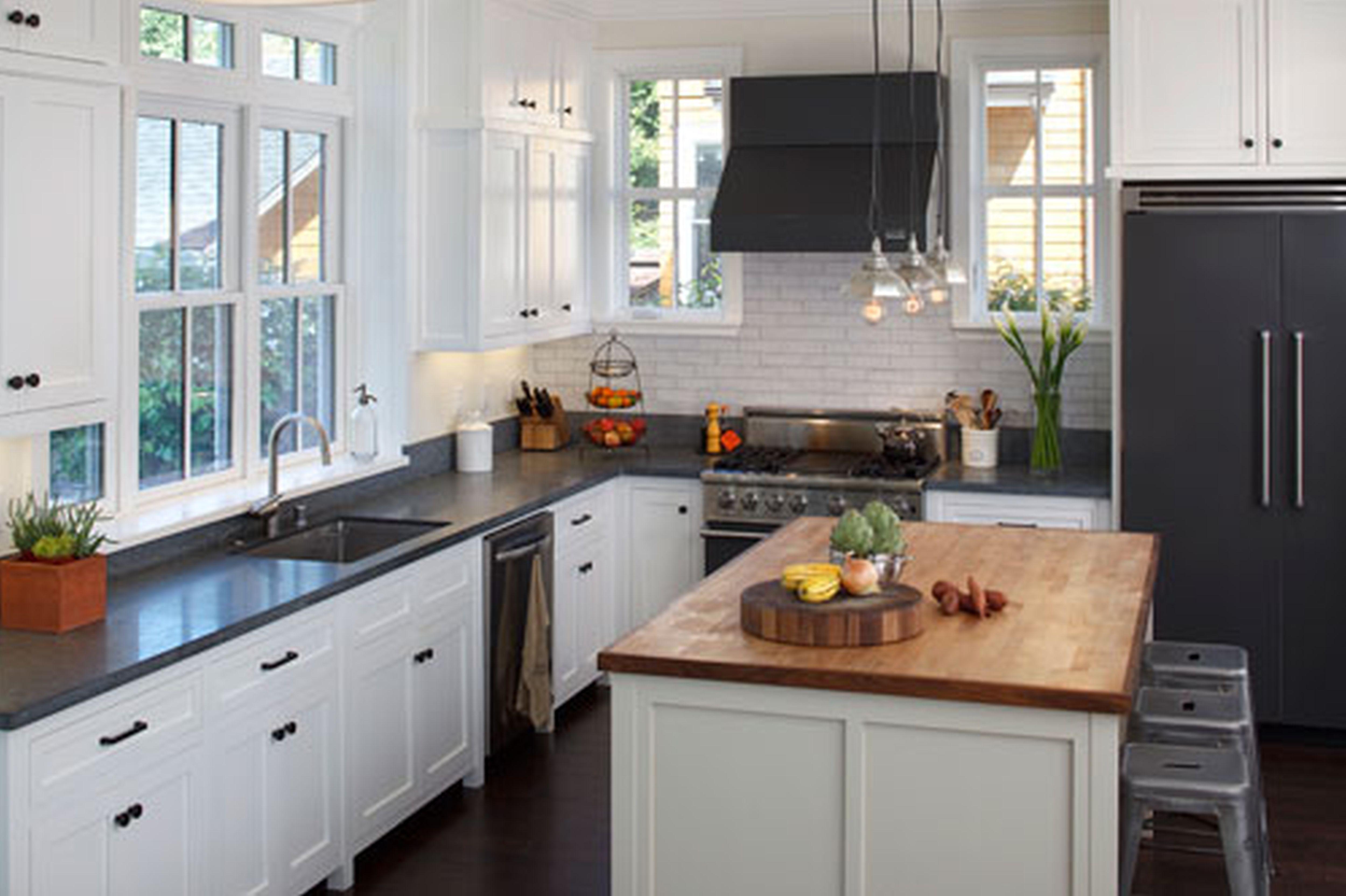 black white kitchen ideas - visi build 3d
