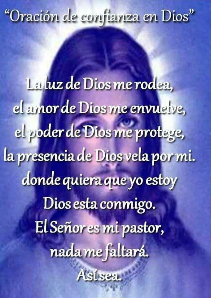 Confianza Dios
