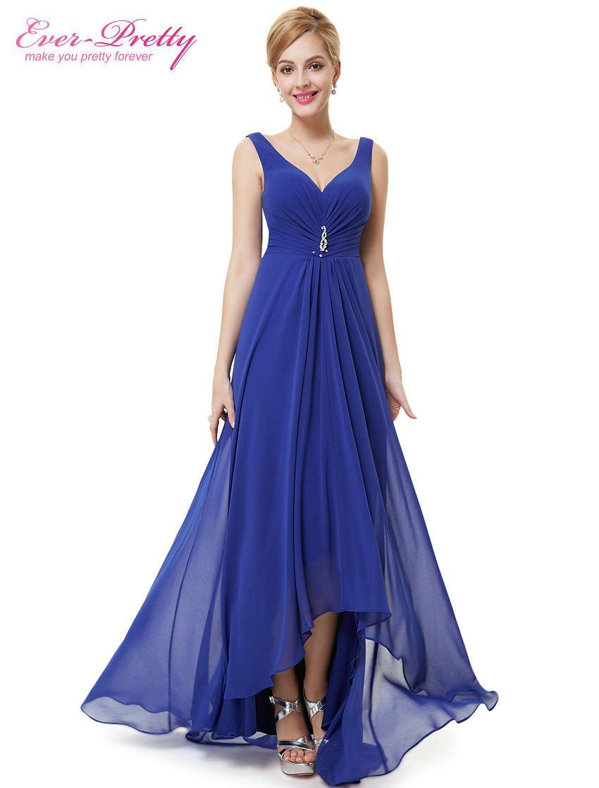 5732e152fa3 Occasion  Formal Evening Item Type  Evening Dresses Waistline  Empire  is customized  No Fabric Type  Chiffon Dresses Length  Ankle-Length  Neckline  V-Neck ...