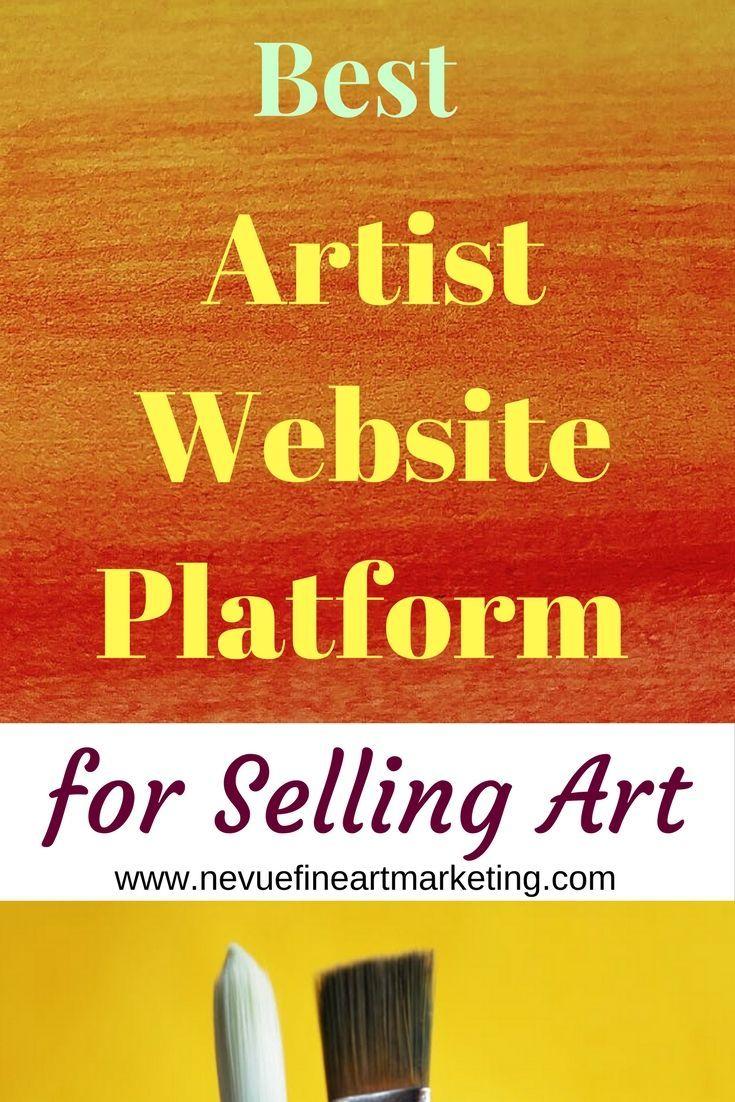 Best artist website platform for selling art selling art