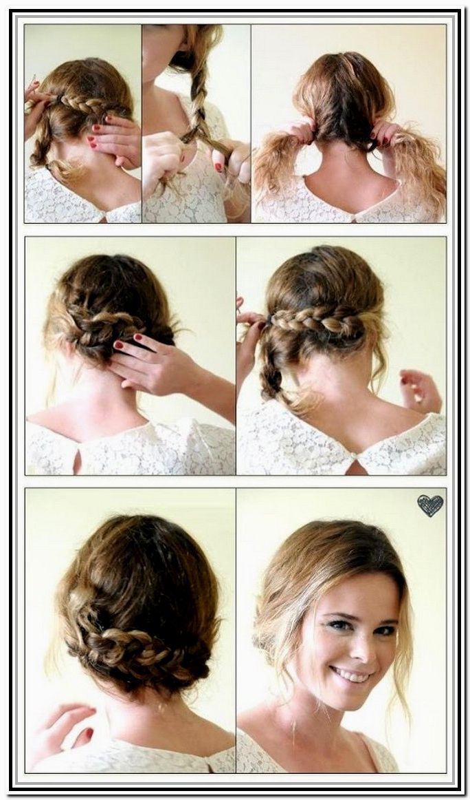 step by step hairstyles for short hair # hairstyles