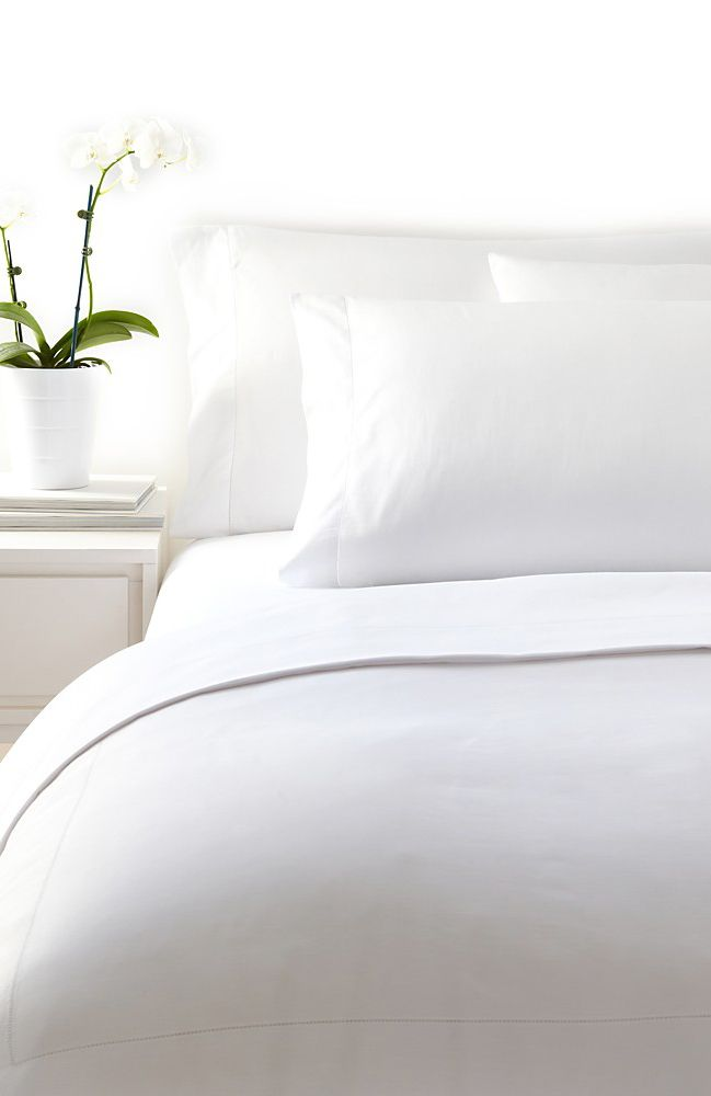 Frette Essentials Single White Ajour Bedding Bed Linen Beautiful