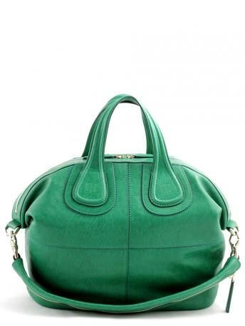 bf59923c00 NIGHTINGALE - Givenchy iconic bag - Nightingale bag medium emerald green -  lamb leather bag in