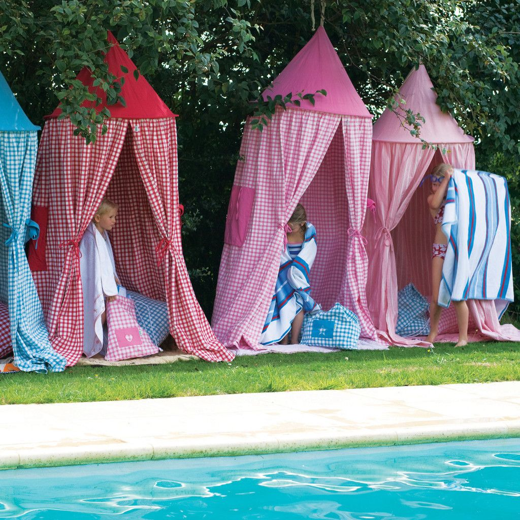 Pool Changing Room Ideas decorating pool changing Hanging Tent Great For Outdoor Change Room