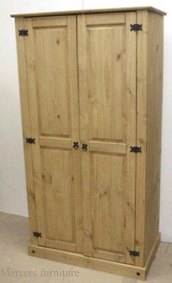 Details about Corona Budget 2 Door Wardrobe Mexican Bedroom ...