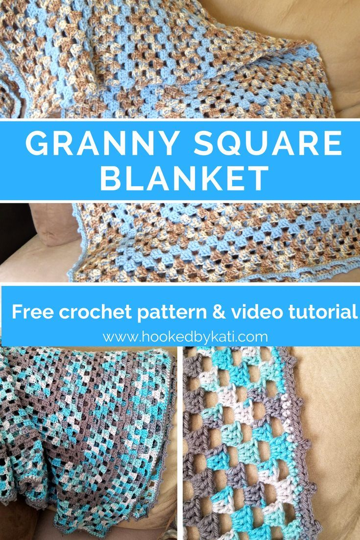 Continuous Granny Square Afghan Pattern Interesting Decorating