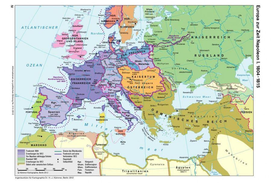 Karten Kartographie Karten Und Napoleon