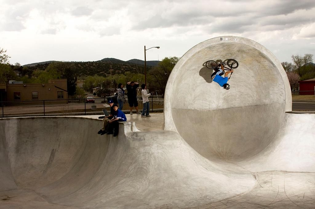 People defying gravity (and common sense) at Silver City's