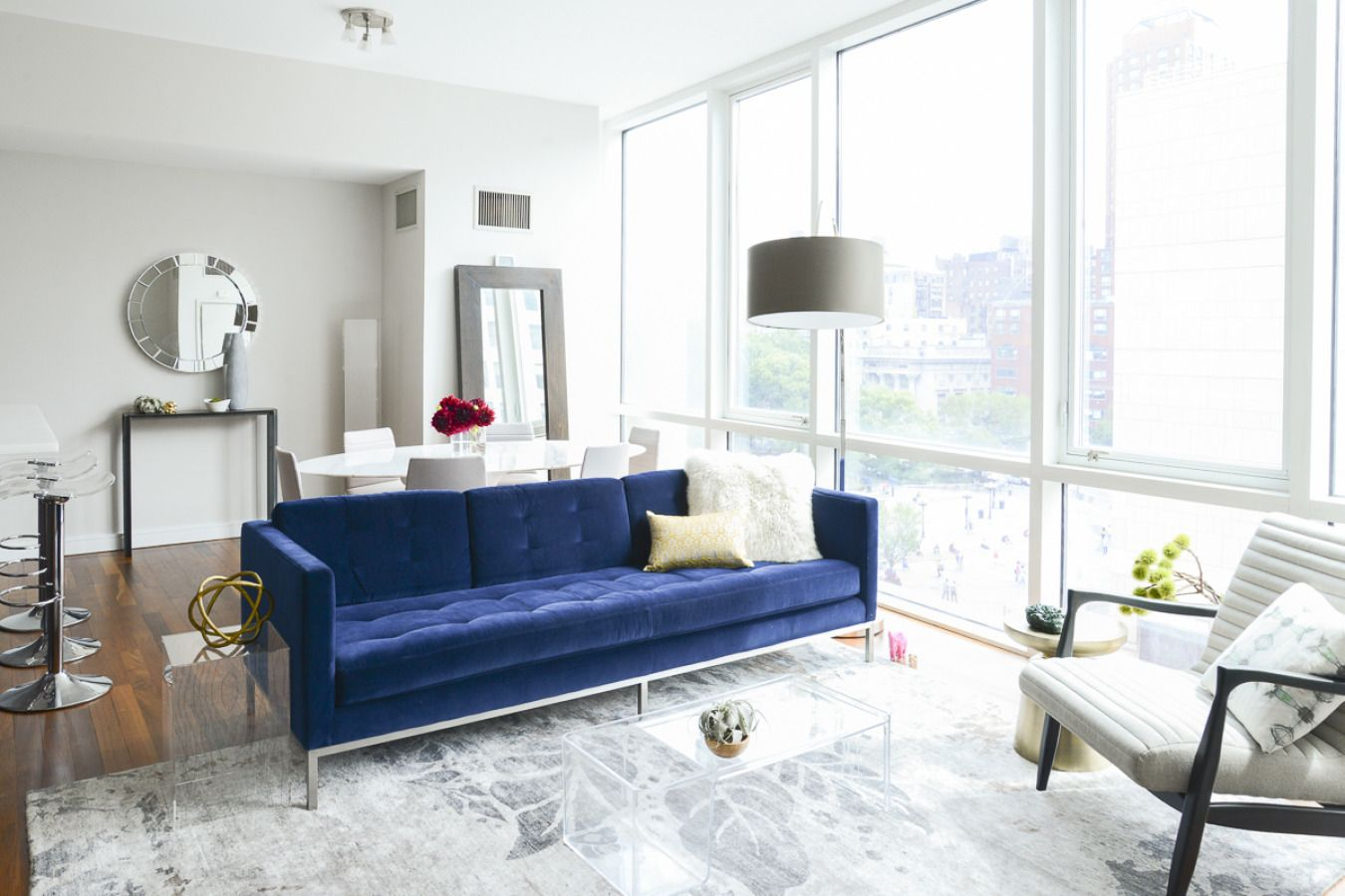 Big City Living in Union Square | Warm colors, Union square and Room