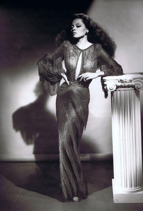 Diana Ross Photographed By George Hurrell Fleetingfanciestumblr