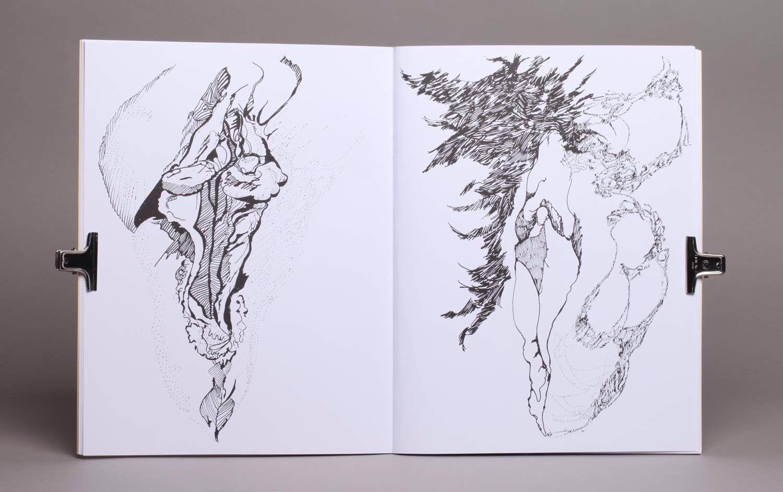 Detail, Cunt Colouring Book | Vagina Skatepark | Pinterest
