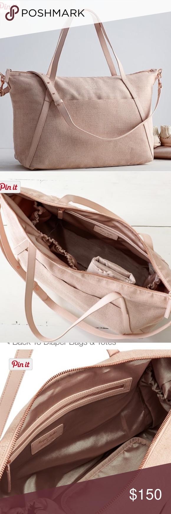 b6309e710620 Monique Lhuillier Blush Diaper Bag Monique Lhuillier Blush Diaper Bag This  well-organized diaper bag
