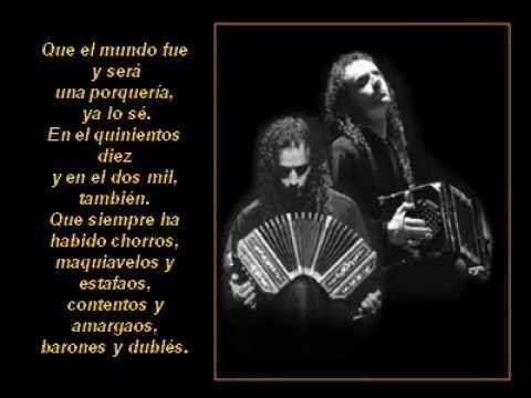 Cambalache Tango Canta Julio Sosa Letra Y Música Enrique Santos Discépolo Frases De Tango Letras De Música Tango