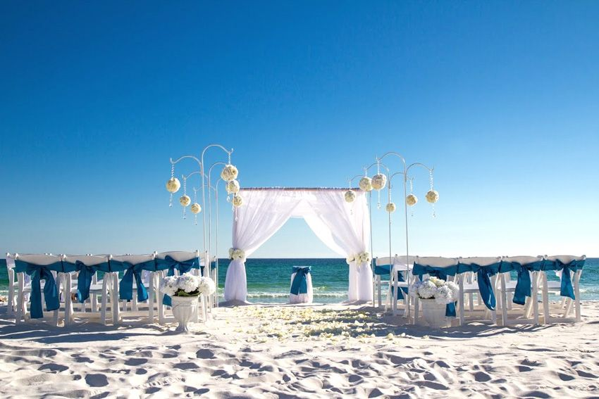 All Inclusive Wedding Package Panama City Beach Wedding Beach Destination Wedding Beach Wedding Packages