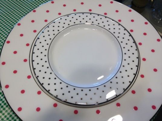 Kate Spade Pink Polka Dot Dishes Www Shopthecourtyard Blogspot Com Polka Dot Dishes Pink Polka Dots Time To Eat