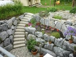 Bildergebnis Fur Bruchsteinmauer Hangen In 2020 Steinmauer Garten Garten Landschaftsbau Gartenmauern