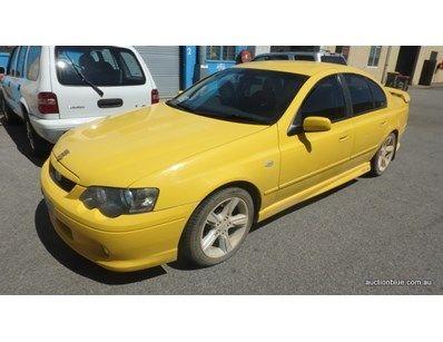 2005 Ford Auto Yellow Sedan Model Ba Mkii Xr6 Sedan Model