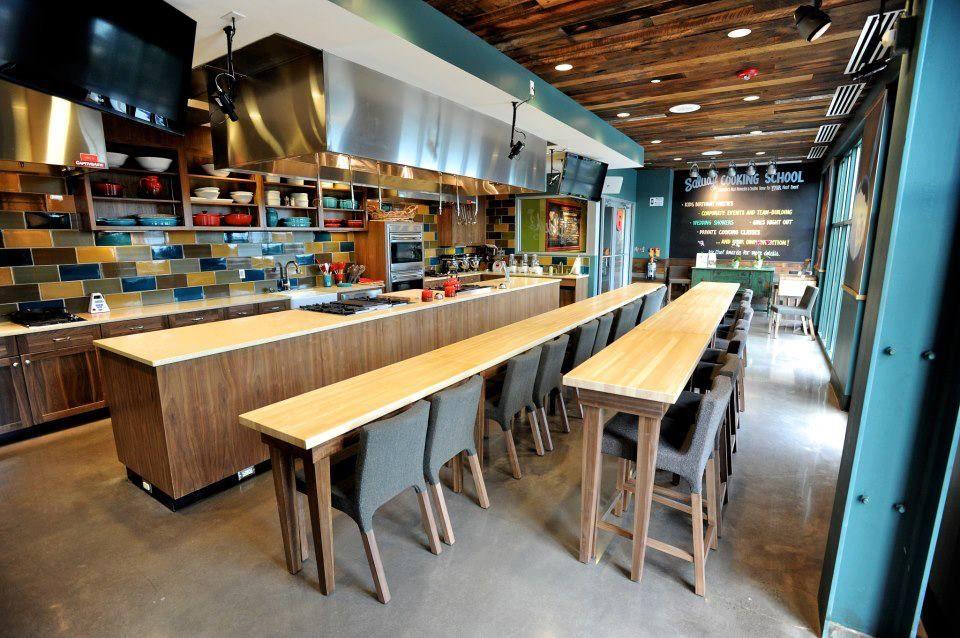 Demonstration kitchen design restaurants pinterest