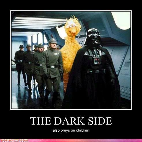 The Dark Side Meme Funny Celebrity Pictures The Dark Side Star