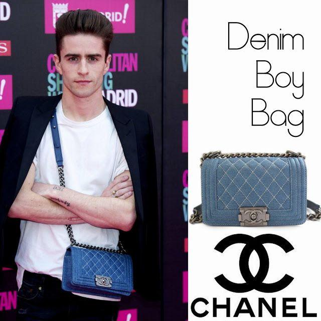 3c9db0a2db28 Pelayo Díaz Zapico y su Denim Boy Bag de Chanel | Pelayo Diaz ...
