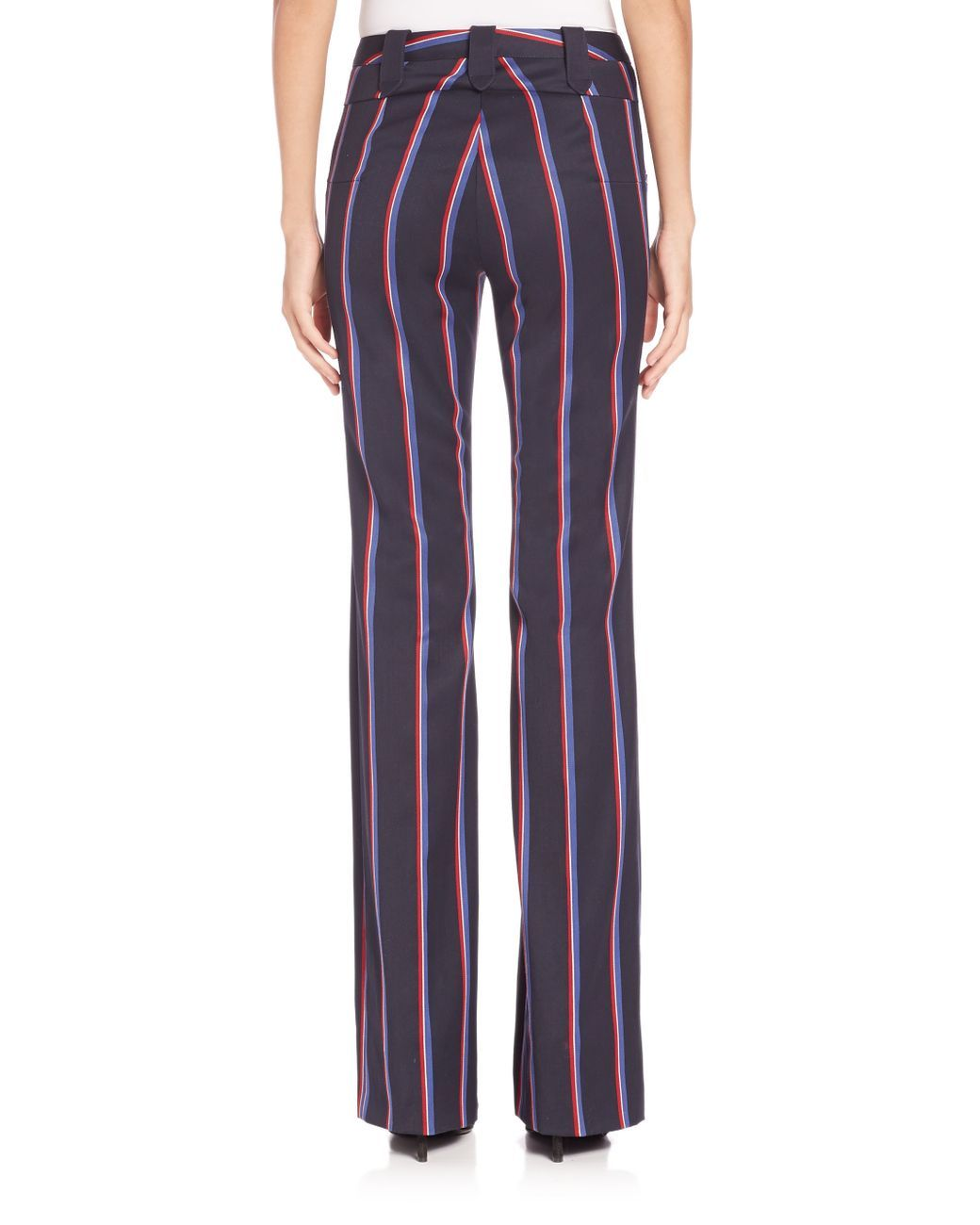 Women\'s Blue Serge Striped Pants   Stripe pants, Clothing and Navy