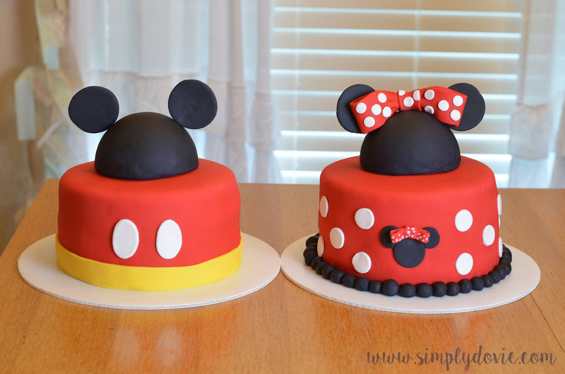 Pin On Mickey Mouse Minnie Mouse Birthday Party