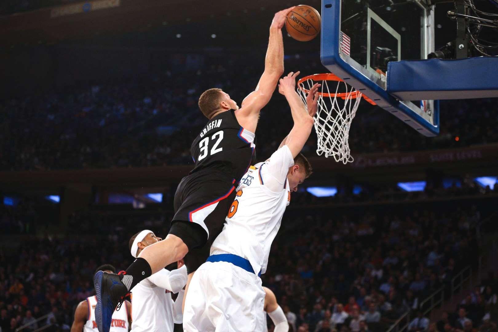 1092bc2e124 NBA  Los Angeles Clippers at New York Knicks - Brad Penner