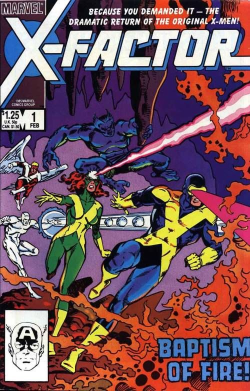 X Factor Marvel Factor Marvel Comics Fan Site Comic Cover
